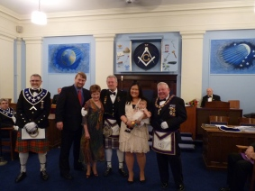 RW Peter Macdonald and family
