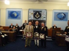 RW Macdonald recieving the Joseph Warren Award