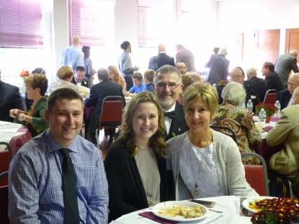 Wor Gordon Craig and family